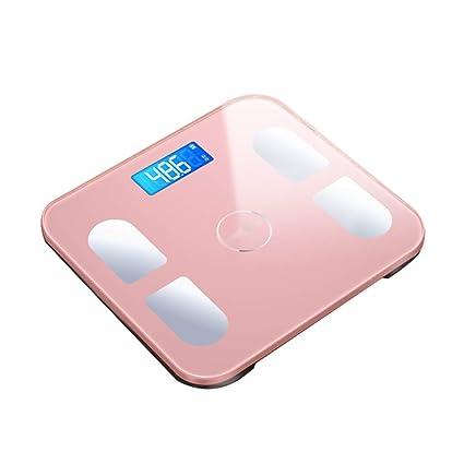 Básculas Digitales Escala De Peso Electrónica Baño En El Hogar Adulto Inteligente Grasa Corporal Pérdida De