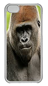 Animals 105 PC Case Cover for iPhone 5C Transparent by heywan