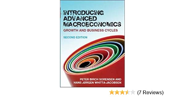 Introducing advanced macroeconomics growth and business cycles introducing advanced macroeconomics growth and business cycles 9780077117863 economics books amazon fandeluxe Images