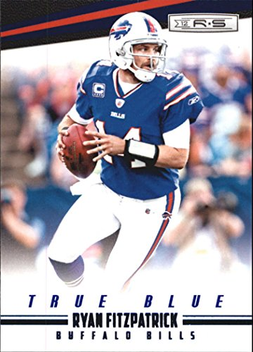 2012 Rookies and Stars True Blue #16 Ryan Fitzpatrick - Football Card