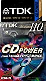 TDK CD Power 110 Cassette, 2pk High Bias Audio