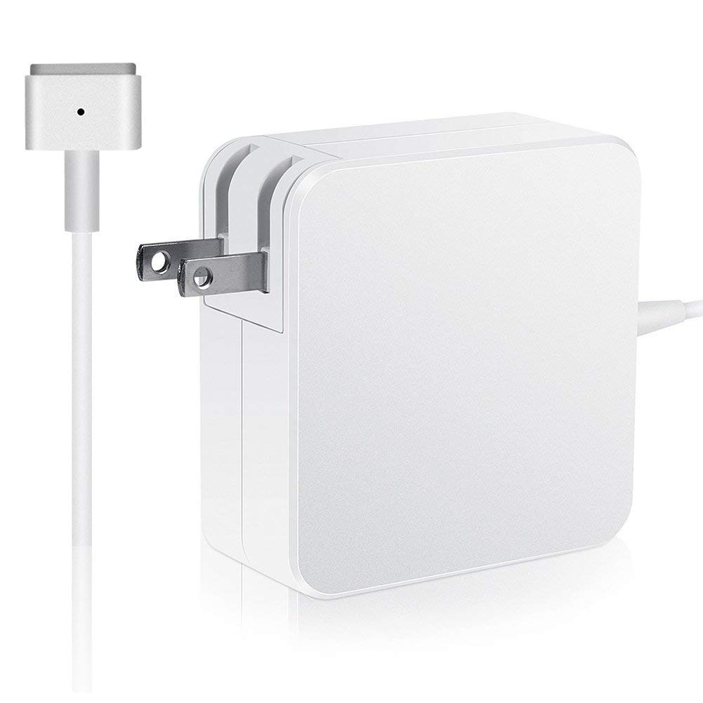 MacBook Air Charger, 45w T-Type Magsafe2 Replacement Power Adapter for Mac Book Air 11-inch & 13 inch (After Mid 2012)