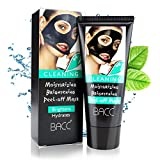 Leaving Sheet Mask Overnight IBEET Hydrating Facial Mask,Moisturizing Blackhead Removal Mask,Purifying Clean Black Peel Off Charcoal Mask,Mud Facial Mask