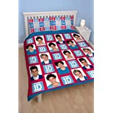 One Direction Craze Double Rotary Duvet Set