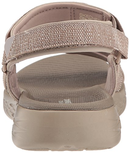 Skechers Performance Damen-Unterwegs 600-15315 Wide Sport Sandale Taupe