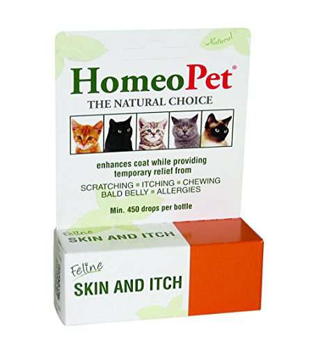 HomeoPet Feline Skin and Itch by HomeoPet