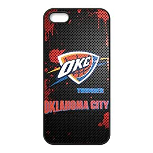 Oklahoma City Thunder Logo Phone Case for iPhone 5S Case