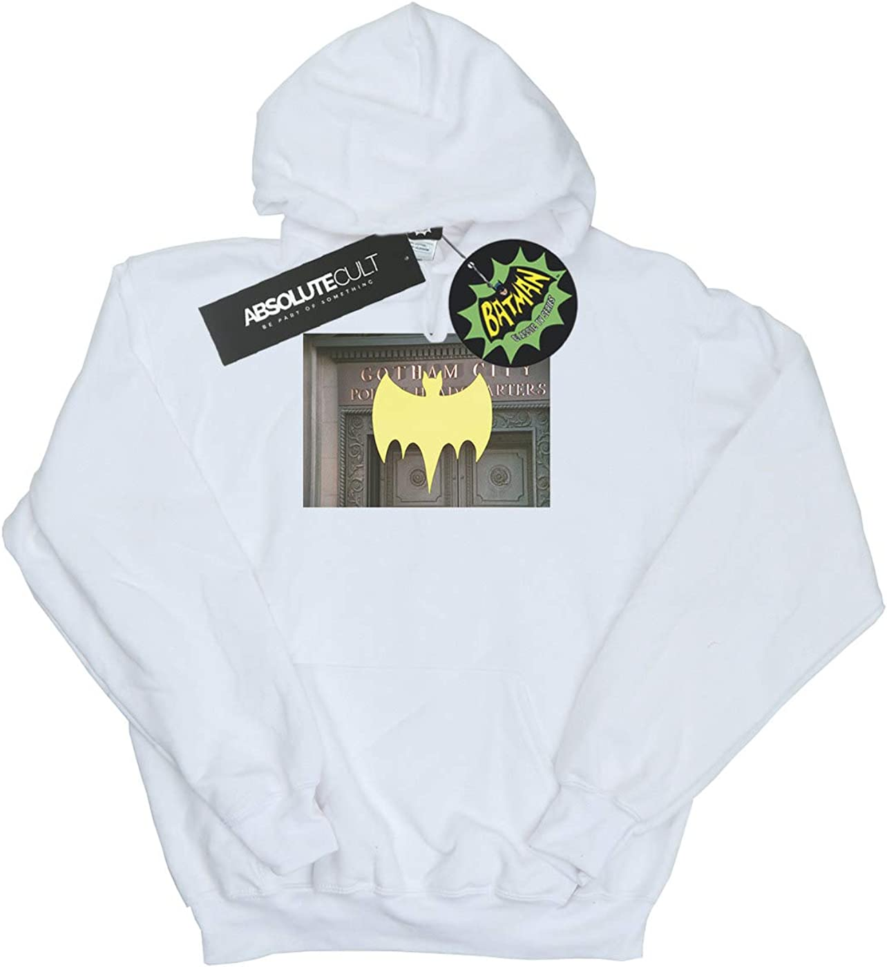 DC Comics Girls Batman TV Series Gotham City Police Hoodie