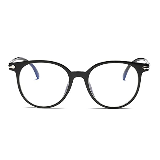 cc2af05710 iCaptainAB Unisex Non Prescription Glasses and Fake Eyeglasses and Black  Frame Clear Lenses Eyeglasses
