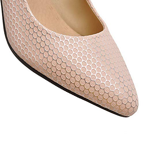AdeeSu Compensées SDC05642 Femme Rose Sandales rA4rSq7w