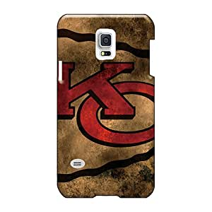 High Quality Hard Cell-phone Cases For Samsung Galaxy S5 Mini (Vtg8105ueSc) Allow Personal Design Stylish Kansas City Chiefs Skin