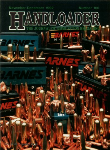 Books : Handloader Magazine - December 1992 - Issue Number 160
