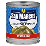 San Marcos 109 Jalapeno Peppers, 7-Ounce (Pack of 24)