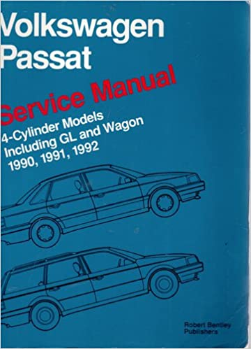 Volkswagen passat service manual 1990 1991 1992 4 cylinder volkswagen passat service manual 1990 1991 1992 4 cylinder models including gl and wagon fandeluxe Image collections