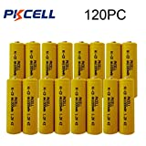 1.2v Nicd 1000mAh AA Rechargeable Batteries for Garden Landscaping Solar Lights (120pc)