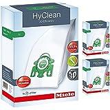 Miele S7 U1 U Type 3D HyClean Vacuum Cleaner Bags & Filter Kit Pack Of 12