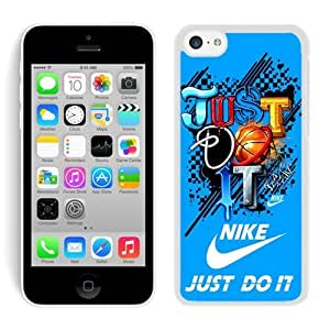 Fahionable Custom Designed iPhone 5C Cover Case With Nike 9 White Phone Case hjbrhga1544