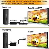 Forlovv HD Digital Outdoor Indoor TV Antenna