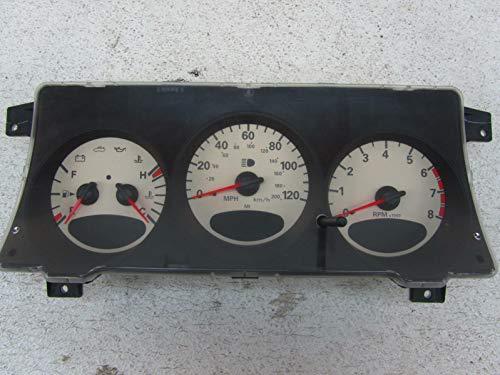 Morad Parts 03 Fits Chrysler PT Cruiser Speedometer Cluster Gauge Gauges Face MPH 04671803ai Chrysler Pt Cruiser Speedometer