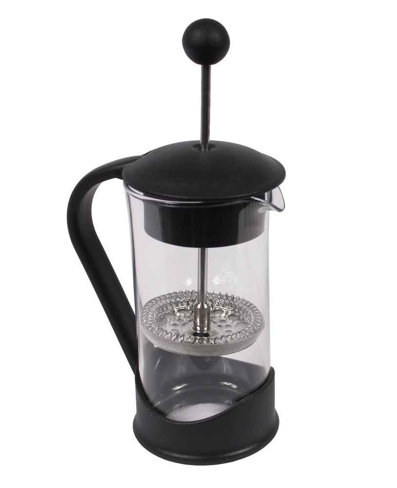 French Press Single Serving Coffee Maker by Clever Chef | Small French Press Perfect for Morning Coffee | Maximum Flavor Coffee Brewer With Superior Filtration | 2 Cup Capacity (12 fl oz/0.4 liter) by Clever Chef