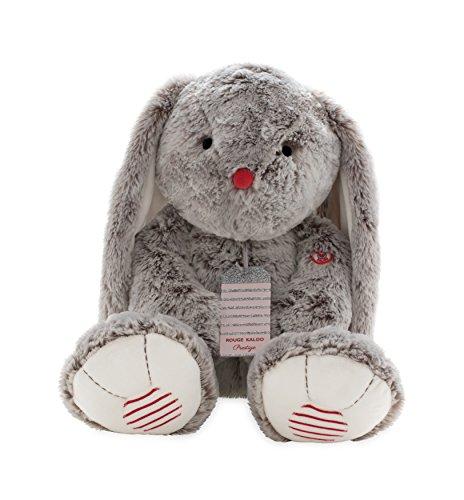(Kaloo Rouge XL Prestige Rabbit-Grey Plush)