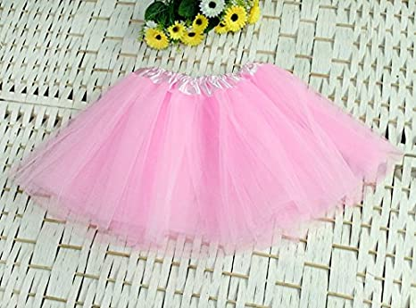 Cocobla Girls 3 Layers Tutu Skirt Ballet Dancewear Fancy Dress Party Dancewear