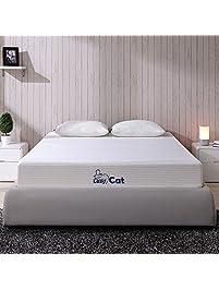 lazycat memory foam mattress with 1 free pillow 8 inch twin mattress