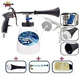 Fochutech High Pressure Car Cleaning Gun, Car Wash Kit - Car Cleaning Foam Gun with 1L Foam Bottle, Spray Nozzle Car Wash Gun Foam Lance, Car Care Essentials(US Edition)