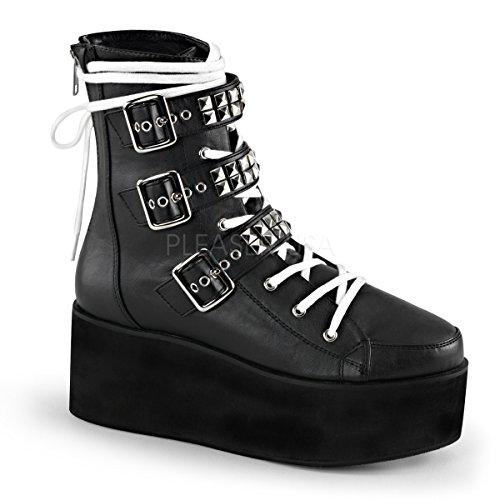 Demonia GRIP-101 Blk Vegan Leather