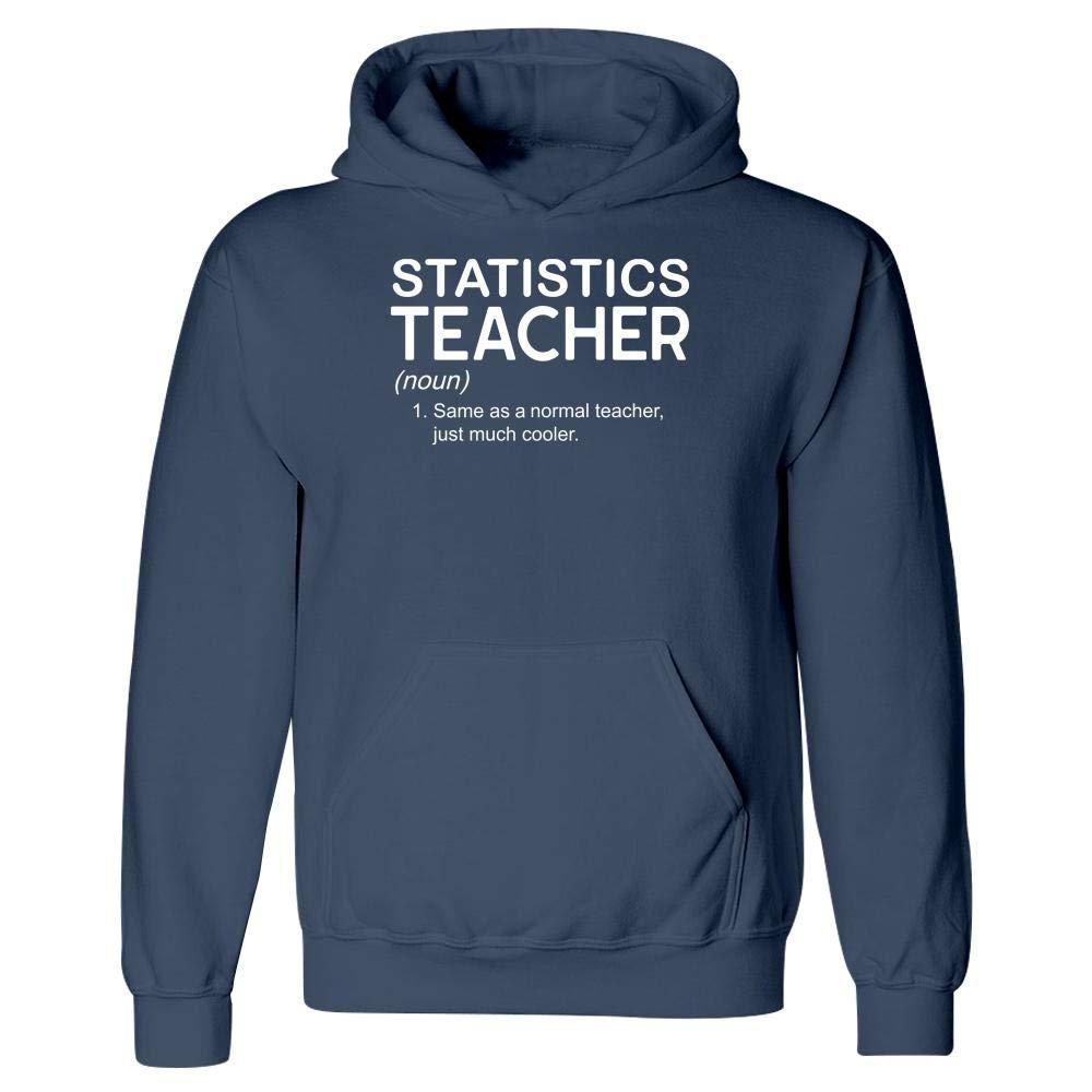 Hoodie MESS Statistics Teacher Cooler Than Other Teachers