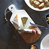 Sur La Table Marble and Acacia Wood Cheese Paddle STW-3156