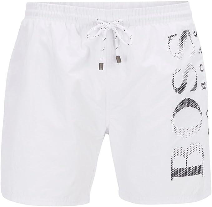 Hugo Boss Octopus 50371268 022 Trunk Swim Shorts Grey