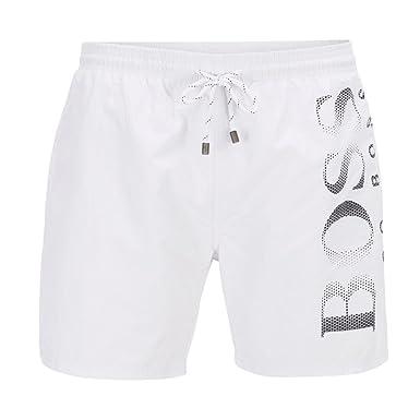 59ef89cee7 BOSS Hugo Octopus Swim Shorts White 103 50371268: Amazon.co.uk: Clothing