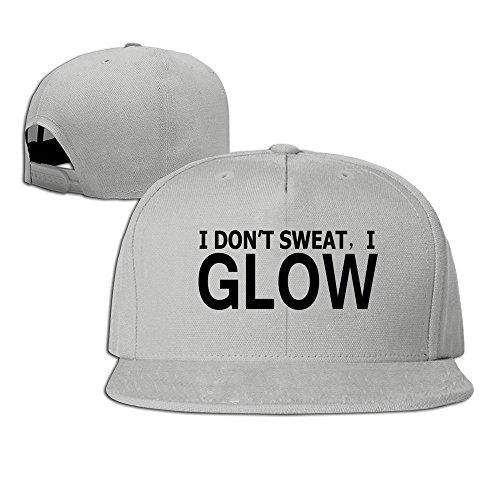 MaNeg I Glow Unisex Fashion Cool Adjustable Snapback Baseball Cap Hat One Size - Fendi Dallas