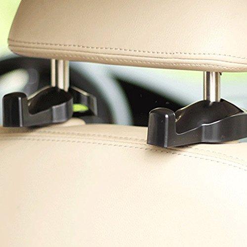 ipely universal car vehicle back seat headrest hanger holder import it all. Black Bedroom Furniture Sets. Home Design Ideas