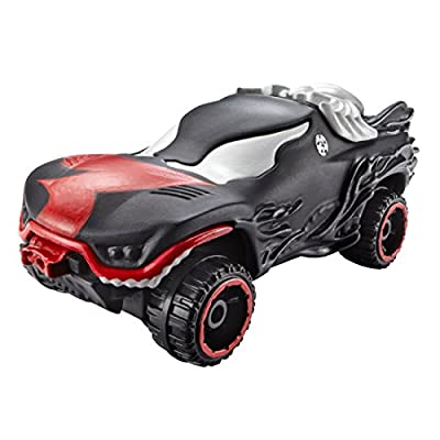 Hot Wheels, Marvel Character Car, Venom #6, 1:64 Scale: Toys & Games