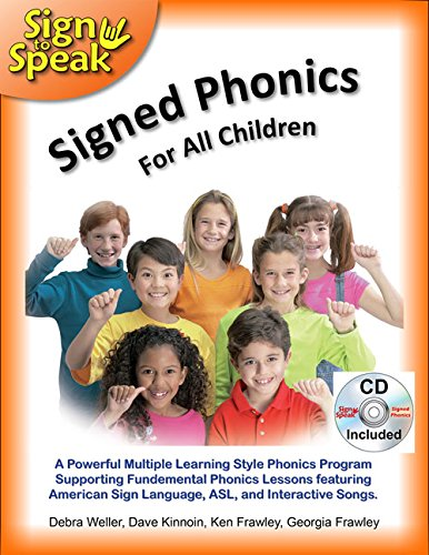 (Signed Phonics with CD (Sign to Speak))