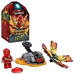 LEGO NINJAGO SbamKai, Set Spinner Ninja Rosso, 70686  LEGO