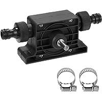 KKmoon Pompe Portable de Perceuse Électrique, Pompes de Transfert à Amorçage Automatique, Pompe à Eau pour Huile Fluide