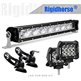 05 accord hood - LED Light Bar Kit, Rigidhorse 22