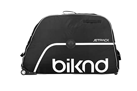 Biknd Jet Pack–Bolsa para Bicicleta, Negro, 70x 24x 70cm, 118L