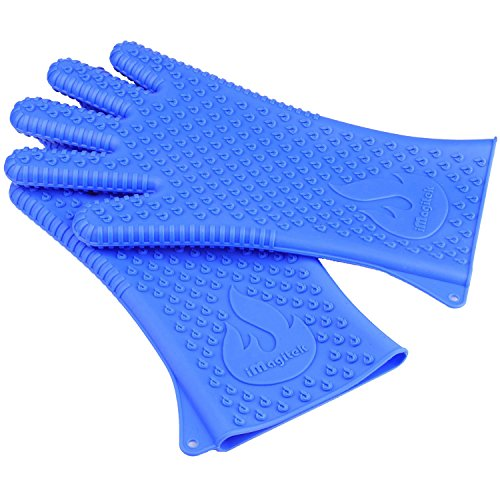 Buy Bargain [Upgraded Version] iMagitek BBQ Grill Cooking Gloves, Best Versatile Heat Resistant Insu...