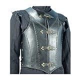 Armor Venue: Veterans Leather Body Armour Black One Size