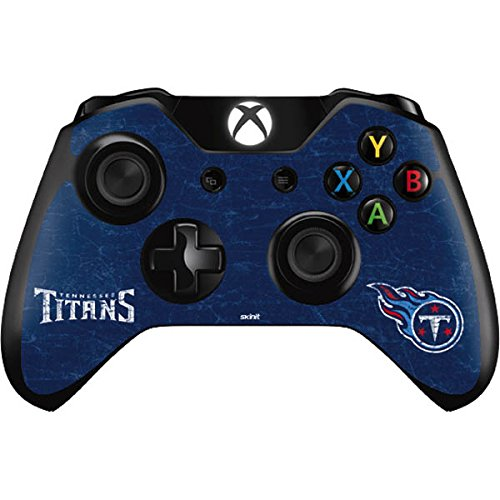 Skinit NFL Tennessee Titans Xbox One Controller Skin - Tennessee Titans Distressed Design - Ultra Thin, Lightweight Vinyl Decal Protection by Skinit