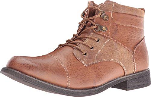 Steve Madden Men's Banjo Cognac Boot 12 D (M) (Madden Boots For Man)