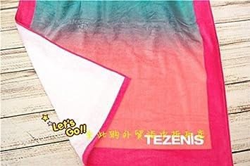Toallas de baño de algodón extendido SunJin TEZENIS y rayas grises de grosor estándar de una toalla de baño para absorción de agua blanda tezeniscolor,red ...