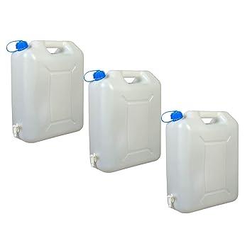Wasserkanister mit Hahn 10L Kanister Behälter Trinkwasserkanister Camping Wasser