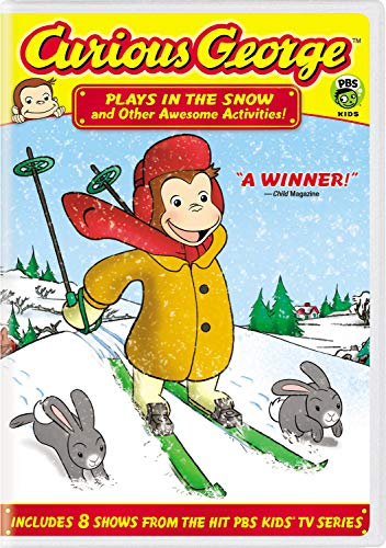 Curious George: Plays in the Snow and Other Awesome Activities! (Fallon Grey)
