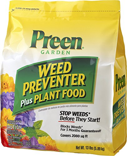 Preen Garden Weed Preventer Plus Plant Food - 13 lb. Bag Covers 2080 sq. ft.