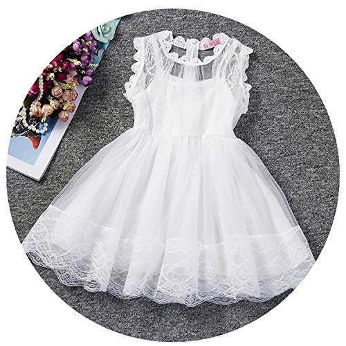 2-6 Years Kids Dresses for Girls Summer Baby Girl Party Wear Children Flower Dress Girl Boutique Casual Wear,As -